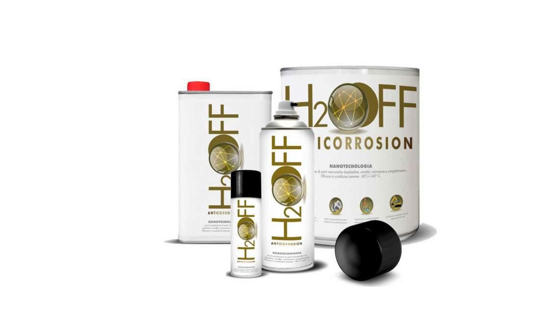 Olio lubrificante anticorrosivo H2OFF Anticorrosion