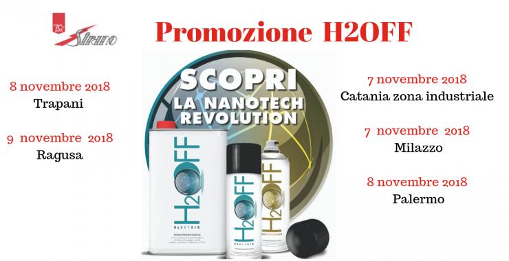 Promozione H2OFF presso STRANO s.p.a.