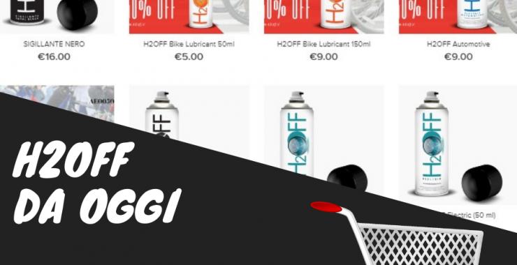 Acquista OnLine prodotti H2OFF