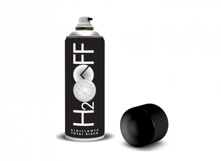 H2OFF sigillante TOTAL BLACK 500ml (500 ml)