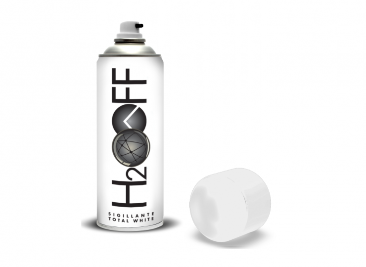 H2OFF sigillante TOTAL WHITE  (500 ml)